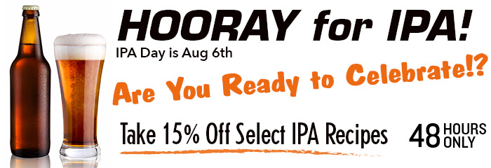 15 Off IPA Kits!