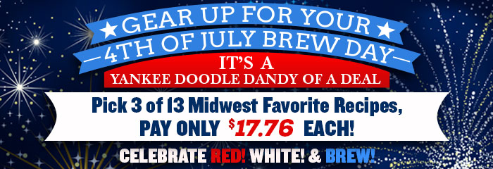 Buy 3 Beer Kits & Get Each for $17.76!