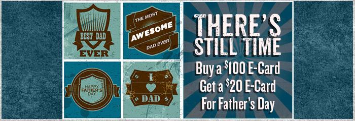 Fathers Day E-Card Promo