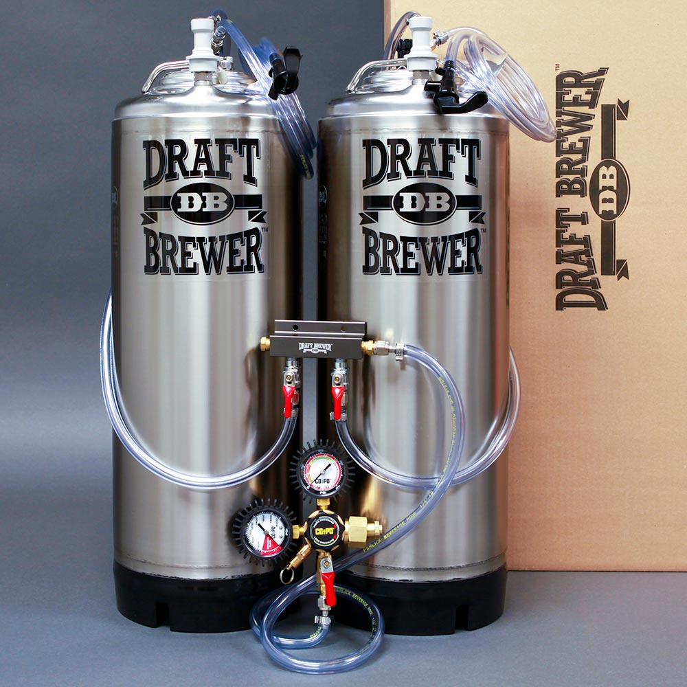 Draft Brewer® Twin Keg System