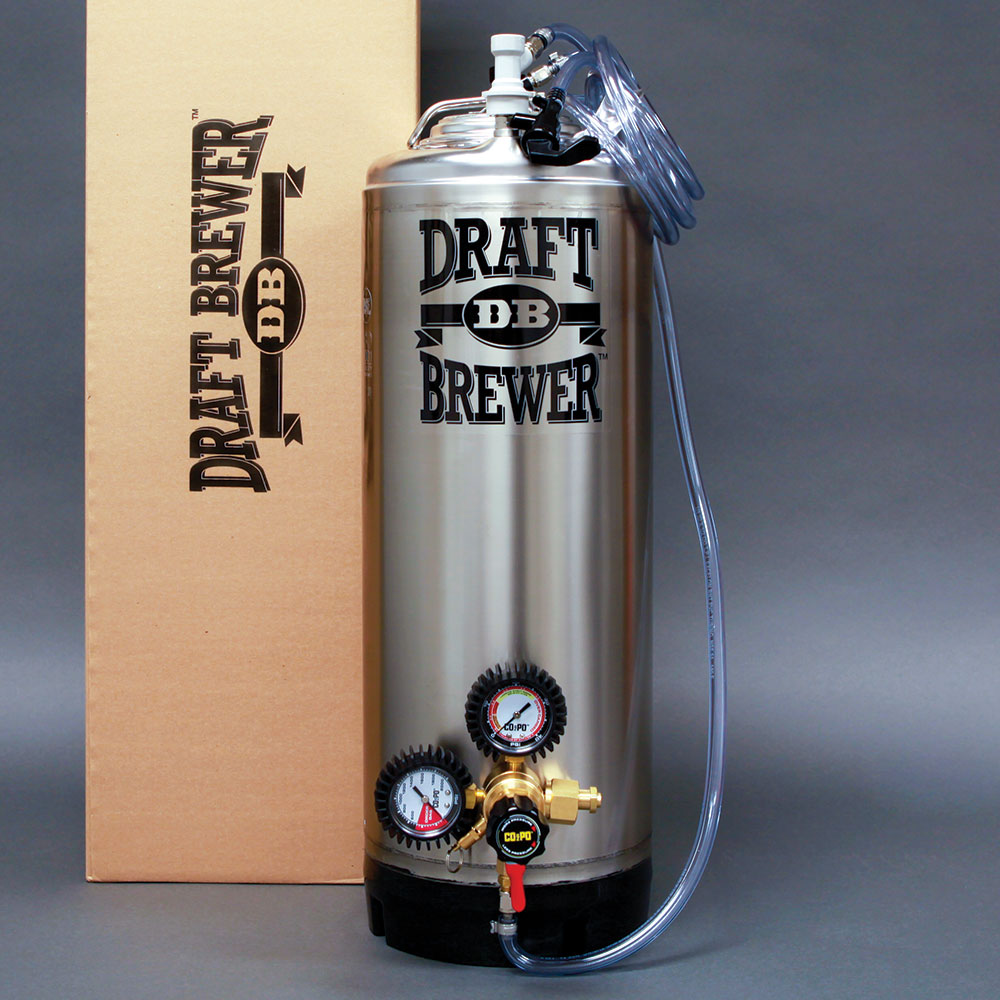Beer Tap Systems For Home - Draft brewer single keg system